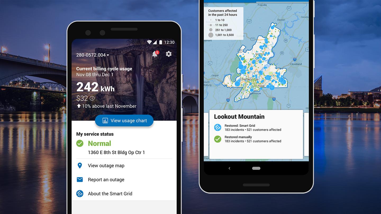 Mercury Intermedia - EPB app case study on wi power outage map, google power outage map, fl power outage map, ar power outage map,